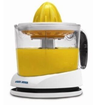 K&A Company Black & Decker - Exprimidor de limón, lima y pomelo (7,
