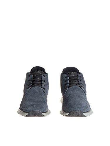 Hogan Sneakers Uomo HXM2540V810EA757R2 Camoscio Blu