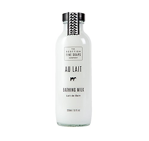 Au Lait Bathing Milk 220 ml Scottish Fine Soaps A01612