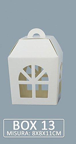 Scatole Su Misura Per Bomboniere.Pianeta Confetti Scatola Modello Lanterna Per Bomboniera