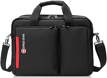 Swissgear Waterproof Bag for Samsung Galaxy Book Pro and Flex 15.6 inch Swiss Gear Crossbody Messenger Bag - Black , 2725617428136
