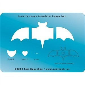 Cool Tools - Jewelry Shape Template - Huggy Bat