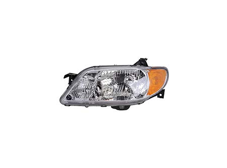 Fits 2001-2003 Mazda Protege Head Light Driver Side MA2502119 4dr For Sedan; w/aluminum bezel - replaces BL8D-51-OLOD