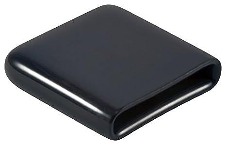 Black Vinyl Flat Wallet New In Pack
