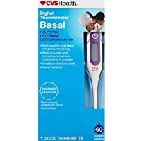 CVS Health Digital Thermometer Basal(Helps You Determine Date of Ovulation)