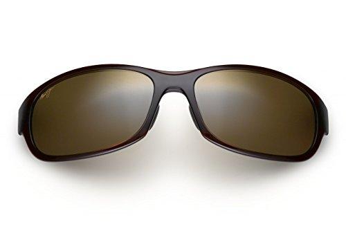 Maui Jim Twin Falls Polarized Sunglasses Rootbeer Fade / HCL Bronze One Size