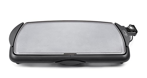 BELLA 14535 Ceramic Cool-Touch Family Size Electric Griddle, Black