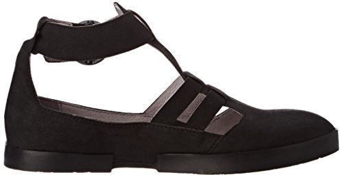 Edan275Fly al Blackblack Fly Mujer London Tobillo Sandalias Negro Women p64ZZqwE
