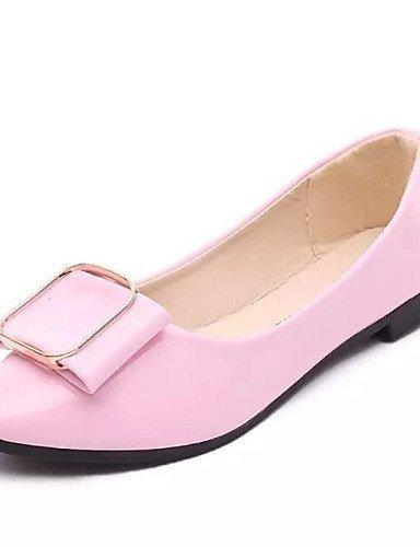Vernice Formale ShangYi Ballerina Comoda Piatto Bianco Casual Ballerine Pink Nero e Ufficio Rosa Scarpe Donna lavoro TrYzqrPw