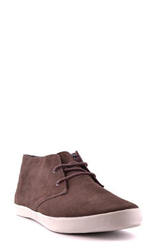 FRED PERRY HOMME MCBI128014O MARRON SUÈDE BASKETS
