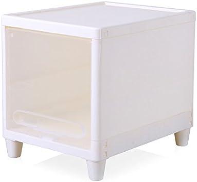 KWEIW Espesor Cajonera armario capturado gabinete plástico boquilla estrecha para organizar armarios armarios de cabecera , armario estrecho blanco: Amazon.es: Hogar