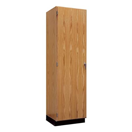Amazon Tall Wood Storage Cabinet W Oak Doors 24 W Office