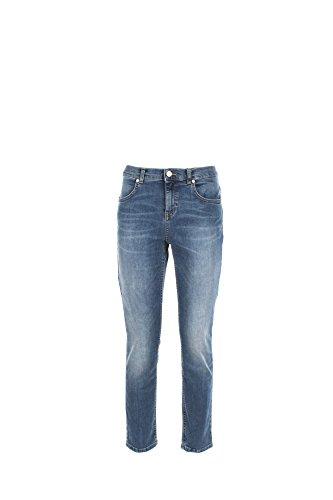 Jeans Donna Kaos Twenty Easy 32 Denim Hp3bl001 Primavera Estate 2017