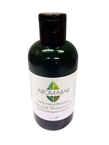 Aceite Afeitado Natural con árbol del té Bergamota & Lima 125ml Aromabar