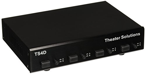 Theater Solutions TS4D Four Zone Dual Source (4 Zone Dual Source Speaker)