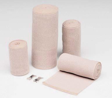 Conco 33400000 Hartmann 4'' X 4 1/2 Yard Tan Econo-Wrap LF Latex-Free Reinforced Elastic Bandage (10 Per Pack, 1 Pack) (Latex Free Reinforced Elastic)