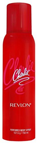 (Revlon Charlie Perfume Body Spray, Red,)