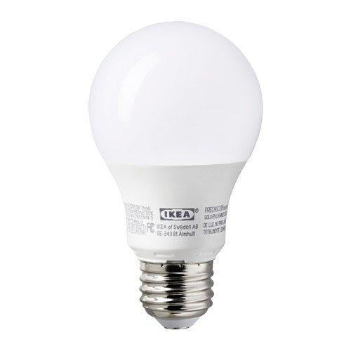 ikea e26 led light bulb 400 lumen (2 pack)