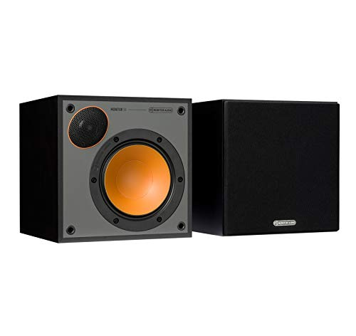 Monitor Audio Monitor 50 Bookshelf Speakers – (Pair) Black