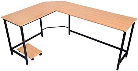 lyrlody Escritorio Oficina, Mesa para Ordenador PC Escritorio de ...