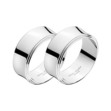 Georg Jensen PYRAMID Napkin ring, 2 pcs.