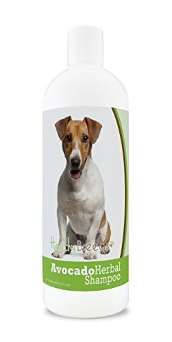 Healthy Breeds Herbal Avocado Dog Shampoo for Dry Itchy Skin for Jack Russell Terrier - OVER 200 BREEDS - For Dogs with Allergies or Sensitive Skin - 16 oz