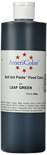 Americolor Soft Gel Paste Food Color, 13.5-Ounce, Leaf Green
