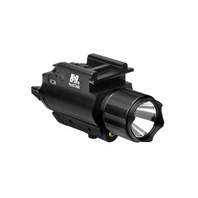 NC Star AQPFLSG NcStar, Green Laser Sight, Tactical W/3W 150 lm Light