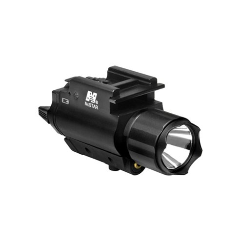 NcSTAR NC Star AQPFLSG, Green Laser Sight, Tactical W/3W 150 lm Light