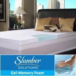 Slumber Solutions Gel Memory Foam 3-inch King Size Mattress