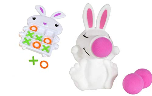 Tic Tac Toe Game & Easter Bunny Ball Shooter ()