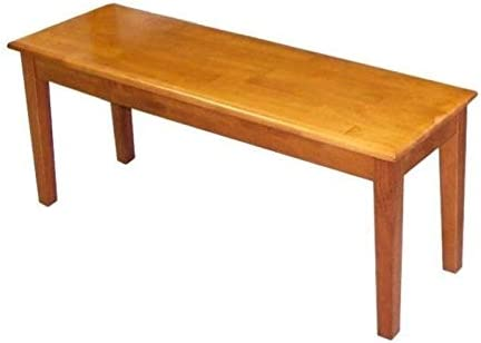 BOWERY HILL Wood Dining Bench