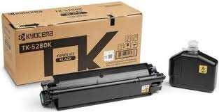 Kyocera 1T02TWCUS0 Model TK-5282C Cyan Toner Kit For use with Kyocera ECOSYS M6235cidn, M6635cidn and P6235cdn A4 Multifunctional Printers; Up to 11000 Pages Yield at 5% Average Coverage