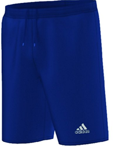 adidas Youth Parma 16 Shorts, Dark Blue/White, Small (Adidas Authentic Jersey)