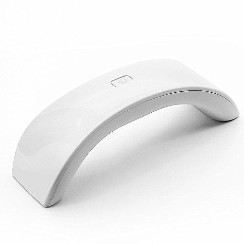 IMBSB 12 Watt Quick-Dry LED UV Nageltrockner Tragbare Mini Regenbogen Geformte LED Lampe Nagel Trockner Für UV Gel