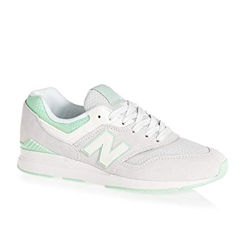 Balance Wl697v1 Donna Verde New Bianco Sneaker fTdw8xPq
