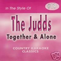 - JUDDS & WYNONNA Country Karaoke Classics CDG Music CD