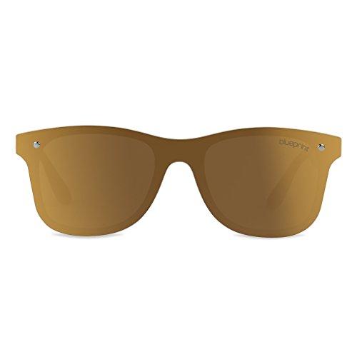 Blueprint Lunettes Eyewear Medium de Champagne Homme Doré soleil qPzqv
