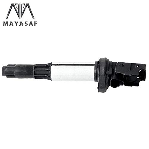 MAYASAF UF522 New Ignition Coil Packs Replacement Fit BMW 325/330/528/525/530/535/545/550/645/650/745/750/760/Alpina, Rolls Royce Phantom