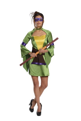 Secret Wishes Teenage Mutant Ninja Turtles Donatello Costume, Green, Medium