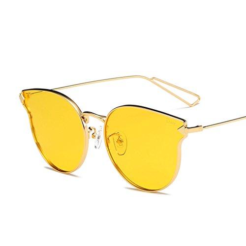 lumière Pare Mode Lunettes Anti personnalité polarisées extérieure décoration C1 Couleur Soleil de Vintage Ai UV Soleil Pilote lele Miroir C4 XBc7g