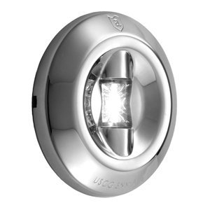 Attwood LED 3-Mile Transom Light Round (Led Round Transom Light)