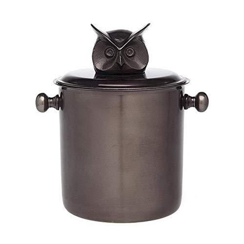 OKSLO Ice bucket owl head finial