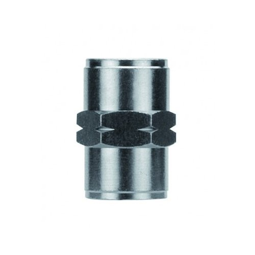 AIGNEP 82300N-08 Nickel Plated Brass Female Coupling, FNPT, 1/2' Pipe Size, Silver 1/2 Pipe Size JGB Enterprises