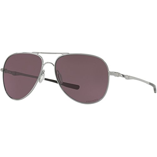 Oakley Metal Unisex Aviator Sunglasses, Gunmetal, 58 - Sunglasses Style Oakley Aviator