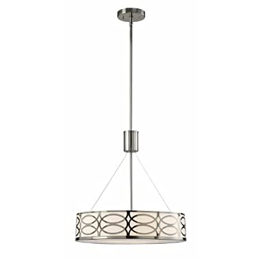 Canarm ICH173B03BN18 Drake 3-Light Chandelier