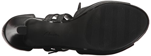 8 Clarks Leather Medium Platform Black Us Elaina Adriel Women's CC4YqA