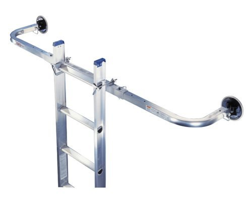 - Werner 97P Adjustable True Grip Stabilizer and Surface Protectors for Extension Ladders