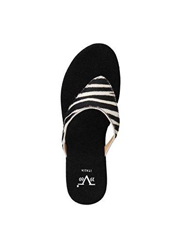 Versace - Zapatos de vestir de cuero para mujer multicolor Zebra