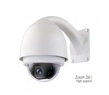 Sony CCD - cámara de vigilancia motorizada, zoom 36 x de 3.4 A 122,4 mm, High Speed - dom-s20 - 45: Amazon.es: Bricolaje y herramientas